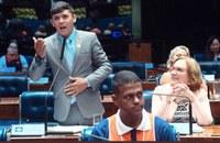 O vereador Netinho Senador segue agenda em Brasília