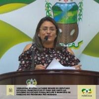 Requerimento solicita ao governo do estado inclusão do município de Parelhas no Programa Pró-Moradia