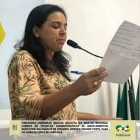 Romisélia solicita cursos a EMATER-RN regional